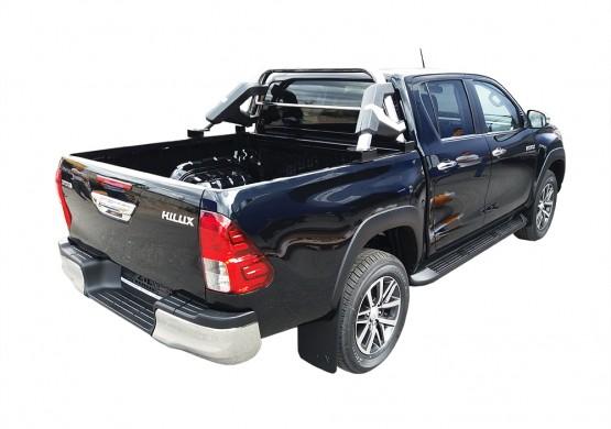 Дуга из нержавеющей стали Toyota Hilux VII Vigo