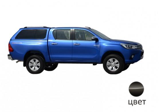 Кунг ALPHA Toyota Hilux VIII Revo (GTE) (черный)