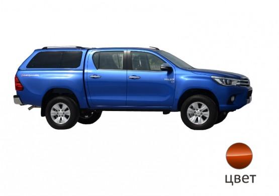Кунг ALPHA Toyota Hilux VIII Revo (GTE) (оранжевый)