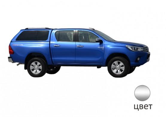 Кунг ALPHA Toyota Hilux VIII Revo (GTE) (серебристый)