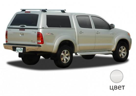 Кунг ALPHA Toyota Hilux Vigo Double Cab (GME) (белый)