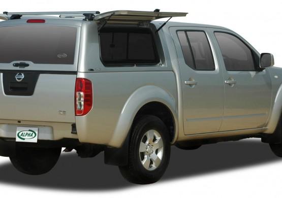 Кунг ALPHA Nissan Navara Frointer D40 (CME)