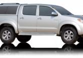 Кунг ALPHA Toyota Hilux Vigo Double Cab (GME) (темно-серый)