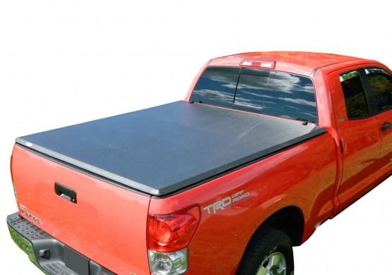 Мягкий трехсекционный тент с алюминиевой вставкой Toyota Tundra II 5.5