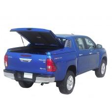 Спортивная крышка ALPHA со стоп сигналом Toyota Hilux VII Vigo (в грунте)