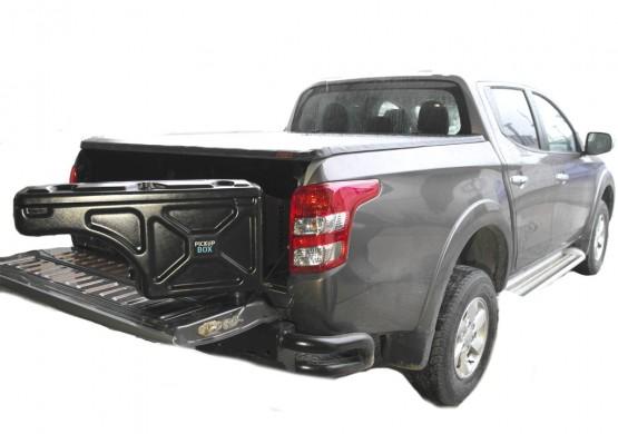 Бокс для пикапа Mitsubishi L200 IV Triton Long ПОВОРОТНЫЙ PICKUPBOX (ПРАВЫЙ) PB107RH
