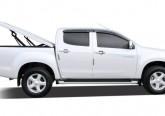 Подъемная крышка TopUp без дуг Ford Ranger T6 (черный)