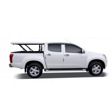 Подъемная крышка TopUp с дугами Toyota Tundra II 5.5 (цвет серый)