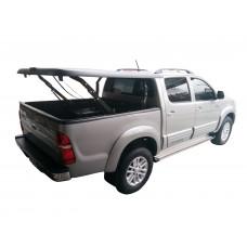 Подъемная крышка TopUp без дуг Toyota Hilux VII Vigo (в грунте)