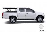 Подъемная крышка TopUp без дуг Ford Ranger T6 (белый)