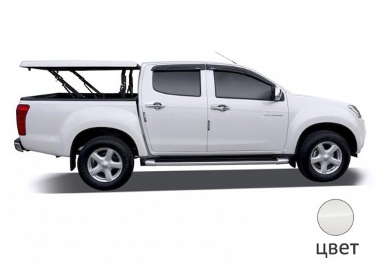 Подъемная крышка TopUp без дуг Ford Ranger T6 (белый) (2012+)