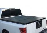 Жесткая трехсекционная крышка Nissan Navara Frointer D40
