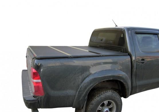 Жесткая трехсекционная крышка Dodge Ram 6.4