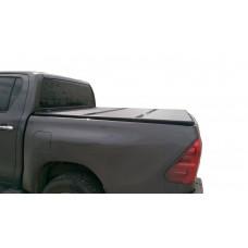 Жесткая трехсекционная крышка Toyota Hilux VII Vigo