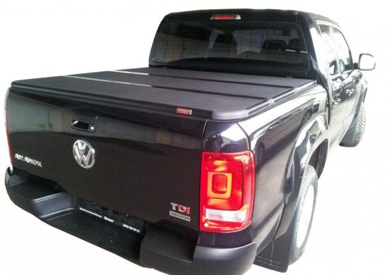 Жесткая трехсекционная крышка Volkswagen Amarok l (2011+)