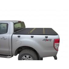 Жесткая трехсекционная крышка Ford Ranger T6