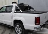 Дуга из нержавеющей стали со Volkswagen Amarok 2010+