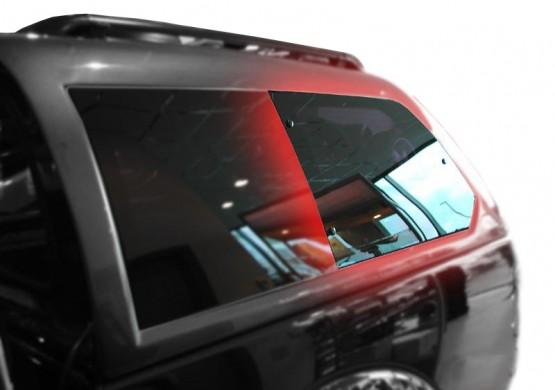 Левое распашное окно для Кунга ALPHA (GSE)