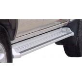 Пороги с подсветкой Toyota Hilux VIII Revo