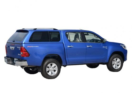 Кунг ALPHA Toyota Hilux VIII Revo (GTE) (жемчужно-белый) (2015+)