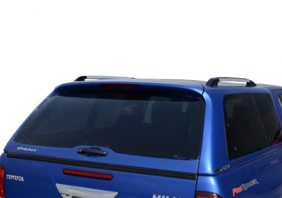 Кунг ALPHA Toyota Hilux VIII Revo (GTE) (серебристый) (2015+)