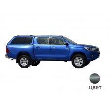 Кунг ALPHA Toyota Hilux VIII Revo (GTE) (темно-серый) (2015+)