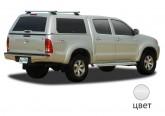 Кунг ALPHA Toyota Hilux Vigo Double Cab (GME) (белый) (2005+)