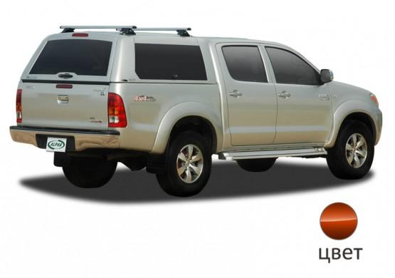 Кунг ALPHA Toyota Hilux Vigo Double Cab (GME) (оранжевый) (2005+)