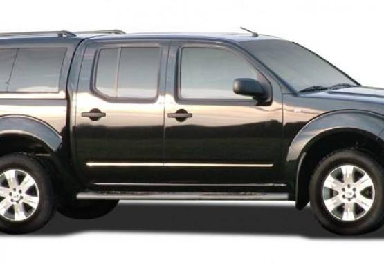 Кунг ALPHA Nissan Navara Frointer D40 (GSE) (серо-сиреневый) (2005+)