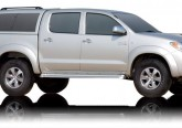 Кунг ALPHA Toyota Hilux Vigo Double Cab (GME) (темно-серый) (2005+)