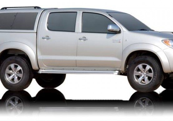 Кунг ALPHA Toyota Hilux Vigo Double Cab (GME) (красный) (2005+)
