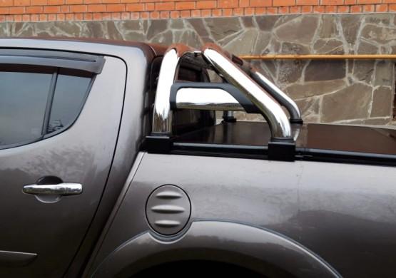 Дуга из нержавеющей стали Mitsubishi Triton (2015+) (RBH-TT15)