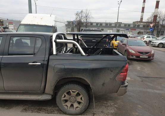 Подъемная крышка TopUp с дугами Toyota Hilux VIII Revo  (2015+)