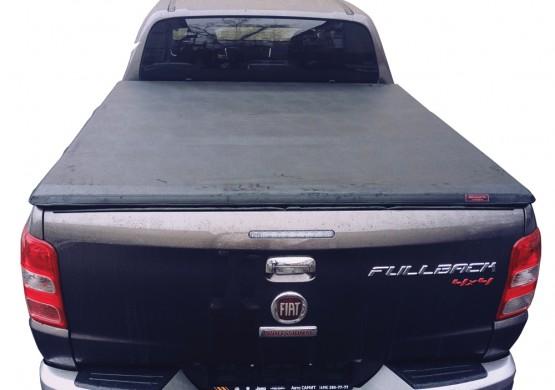 Мягкий трехсекционный тент Fiat Fullback (2012+)