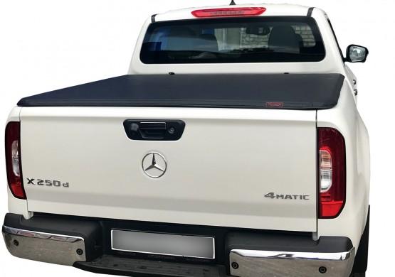 Мягкий трехсекционный тент с алюминиевой вставкой Mercedes-Benz X-Class (2017+)