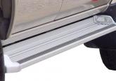 Боковые пороги OE Style на Mitsubishi L200 V Triton