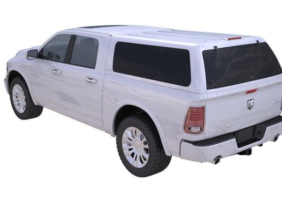 Кунг RT(DR1) DODGE RAM CREW CAB (в грунте) (2018+)