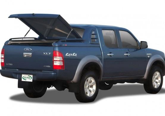 Спортивная крышка ALPHA со стоп сигналом Ford Ranger T6 (бежевый) (2012+)