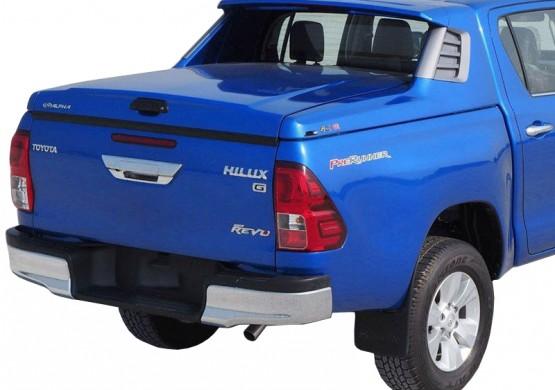 Спортивная крышка ALPHA со стоп сигналом Toyota Hilux VIII Revo (в грунте) (2015+)