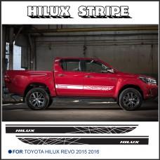 """Стикер на кузов Toyota Hilux Revo """"Hilux"""""""