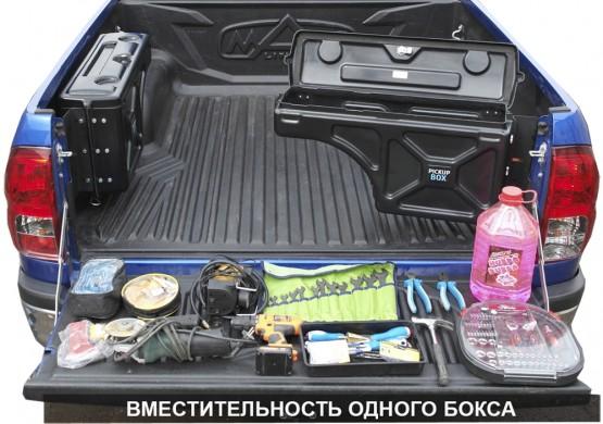 Бокс для пикапа Mercedes X-Class НЕ ПОВОРОТНЫЙ PICKUPBOX (ПРАВЫЙ) PB100NP