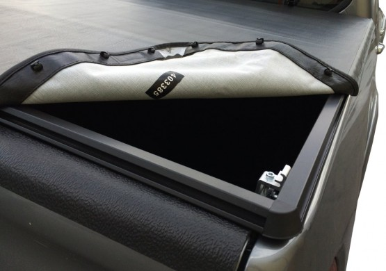 Мягкий отстегивающийся тент Toyota Hilux VII Vigo (2005+)
