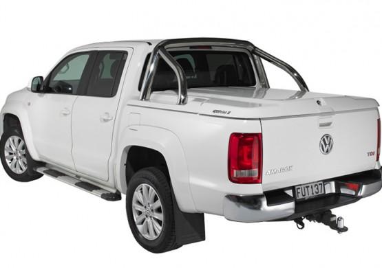 Подъемная крышка TopUp с дугами Volkswagen Amarok I (в грунте) (2011+)