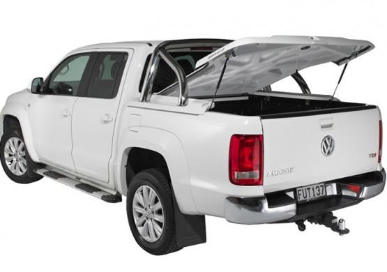 Подъемная крышка TopUp с дугами Volkswagen Amarok I (бежевый) (2011+)