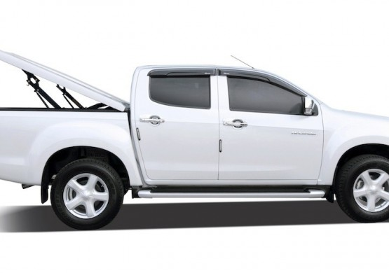 Подъемная крышка TopUp без дуг Volkswagen Amarok I (бежевый) (2011+)