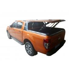 Подъемная крышка TopUp с дугами Toyota Tundra II 5.5 (в грунте) (2007-2013)