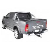 Подъемная крышка TopUp с дугами Toyota Hilux VII Vigo (в грунте) (2005+)