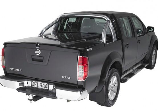 Подъемная крышка TopUp с дугами Toyota Tundra II 5.5 (цвет черный) (2007-2013)