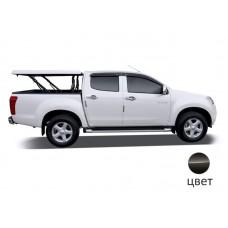 Подъемная крышка TopUp без дуг Ford Ranger T6 (черный) (2012+)