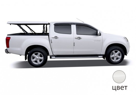 Подъемная крышка TopUp без дуг Volkswagen Amarok I (белый) (2011+)
